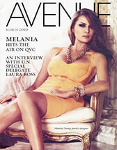 Dr. Levine In Avenue Magazine