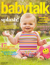 Babytalk Magazine With Dr. Levine